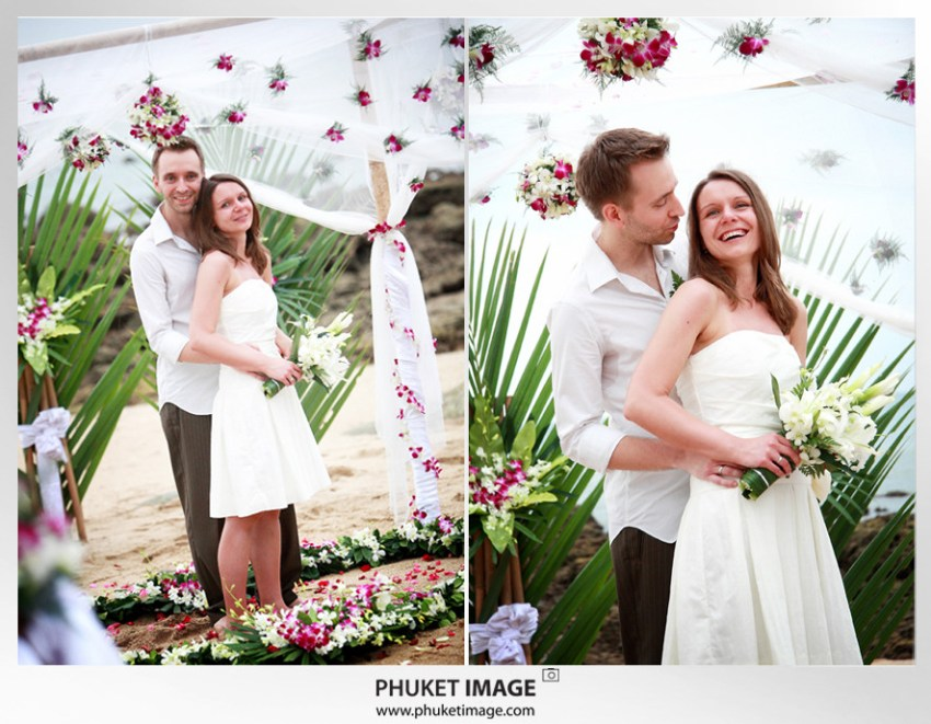 On the beach wedding in Ko Lanta - 031