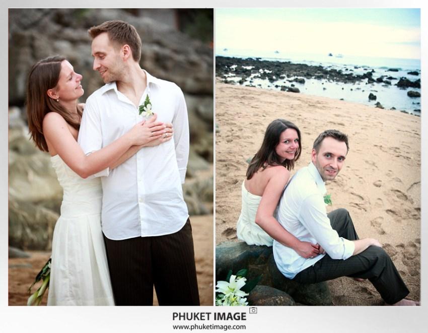 On the beach wedding in Ko Lanta - 034