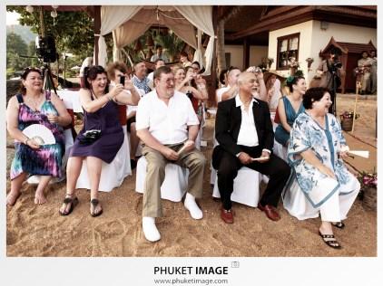 Luxury on the beach wedding in Koh Samui.