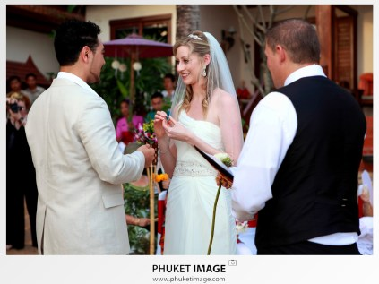 Wedding ceremony and wedding reception photographer for your wedding destination in Thailand.