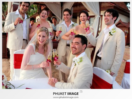 Destination wedding at Phulay Bay, A Ritz-Carlton Reserve, Krabi, Thailand.