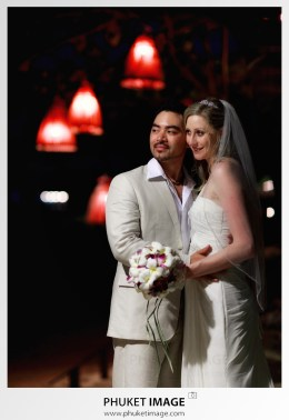 Luxury wedding photographer at a Ritz-Carlton Reserve, Krabi, Thailand.