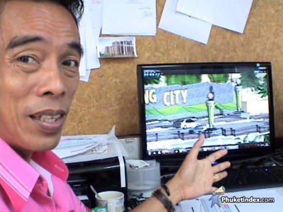 Mr Chairat Sukaban, Deputy Mayor of Patong Municipality