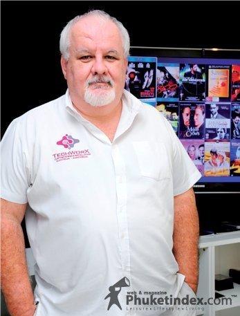 Daragh O Higgins - Managing Director of TechWorX Projects