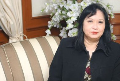 Mrs.Sodsri Sattayadharm, a member of the Office of Election Commission of Thailand