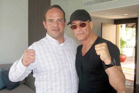 Jean-Claude Van Damme visits phuket