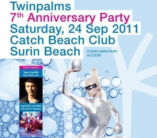Twinpalms 7th Anniversary Party