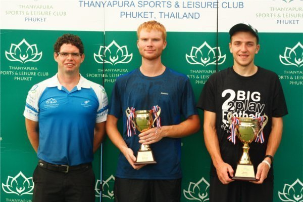 Phuket Sport: ITF Men's Singles and Doubles results