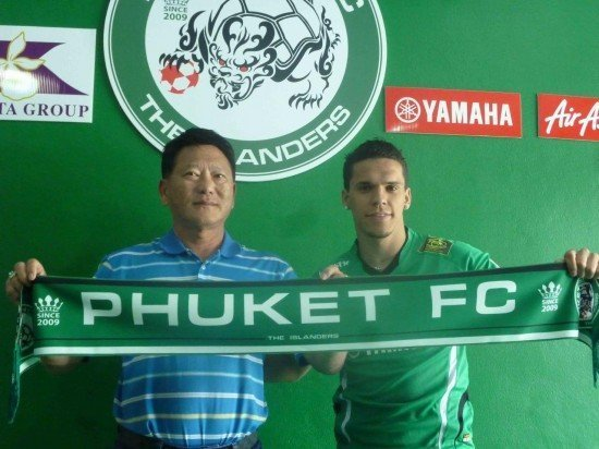 Phuket announce signing of 25 year old Brazilian striker
