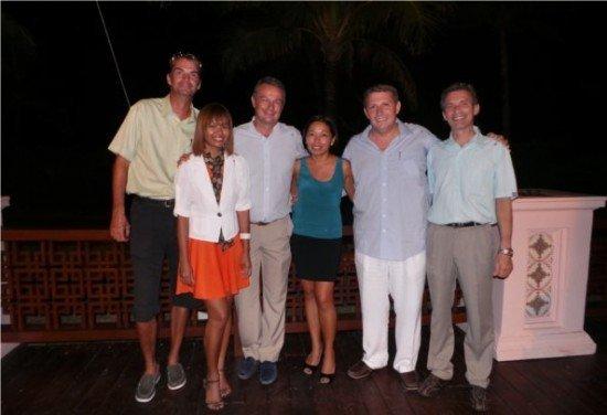Skal International Phuket new committee 2013-2014
