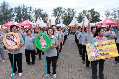 Phuket PAO attends 4th Healthy Market Fair 2013