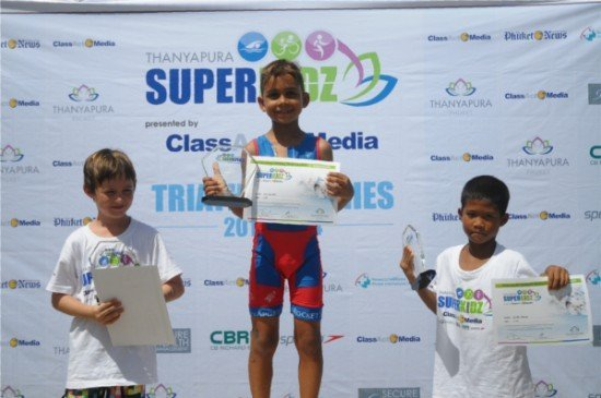 "Phuket's Thanyapura launches ""SUPERKIDZ"" Aquathlon"