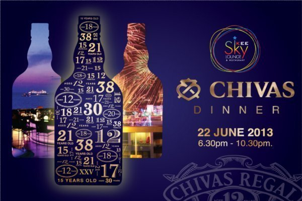 Phuket Resort to host Chivas Whisky Dinner