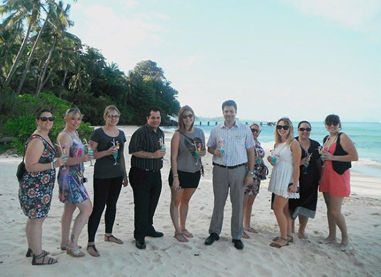 Cape Panwa Hotel Phuket hosts Flight Centre retail agents