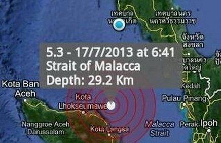 Phuket shaken by Sumatra earthquake