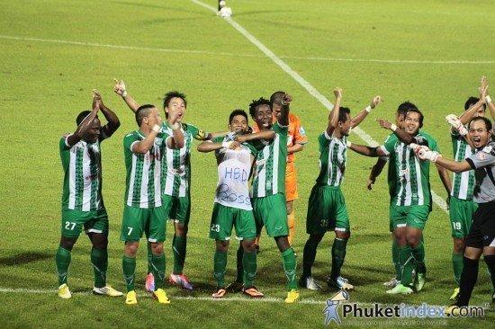 Phuket FC back to winning ways
