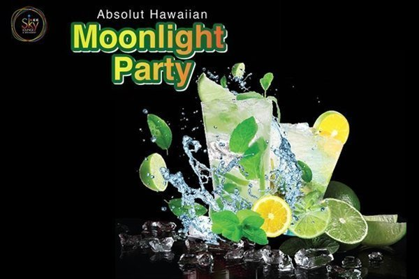 Absolut Hawaiian Moonlight Party @ Kee Sky Lounge