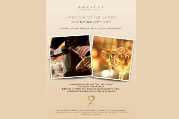 Sofitel Krabi to celebrate French wine harvest