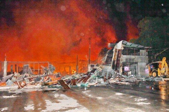 Phuket's Super Cheap burnt to the ground
