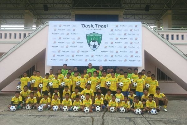 Dusit Thani Phuket hosts 2013 Football School