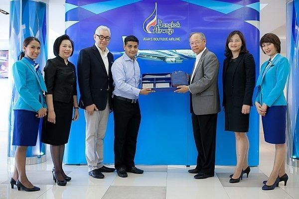 Bangkok Airways Thank FlyerBonus' Half-Million Miler