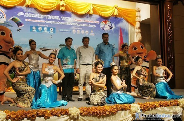 "Phuket holds press conference for ""6th Andaman Travel Trade 2013"""
