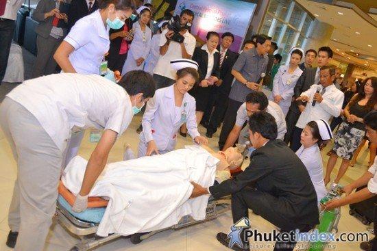 Central Festival Phuket launch Medical Bay