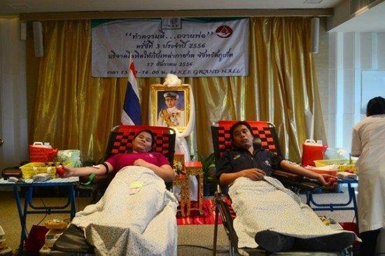 Phuket KEE Resort Hosts Blood Donation Drive