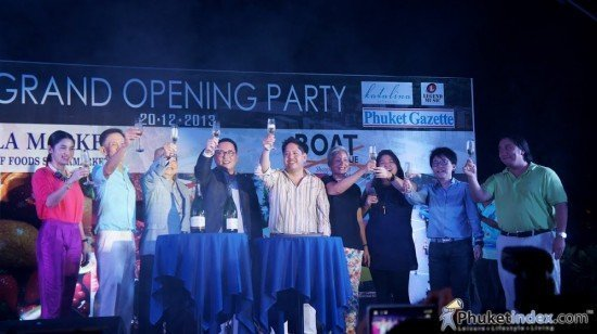 Grand Opening of Phuket's Boat Avenue Mall