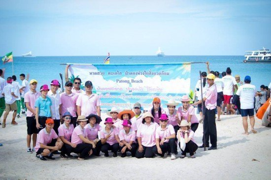 Phuket's KEE Resort Joins December Patong Beach Clean-up