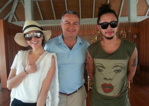 Regent Phuket welcomes top model/actress Sririta Jensen