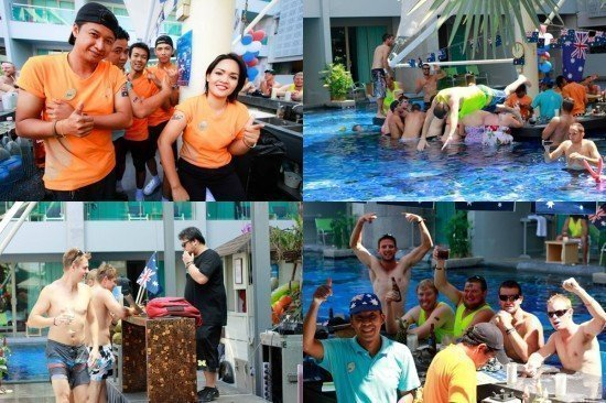 Awesome Australia Day had at Phuket's KEE Resort & Spa