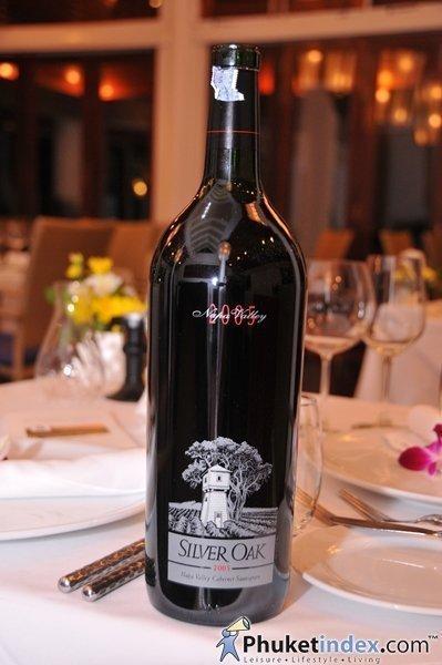 Phuket S Mom Tri S Kitchen Hosts Silver Oak Wine Dinner