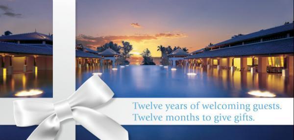 JW Marriott Phuket Celebrating 12th Anniversary