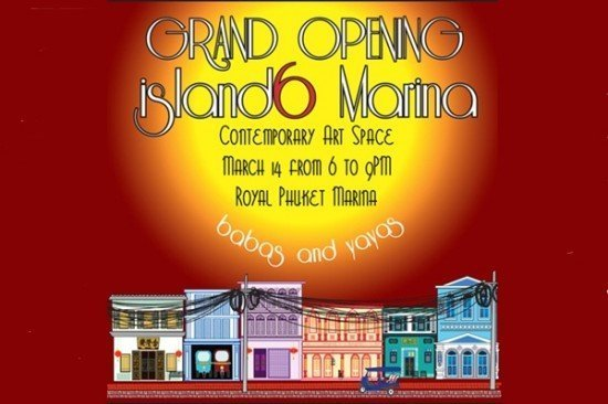 Phuket to see opening of island6 Marina Contemporary Art Space