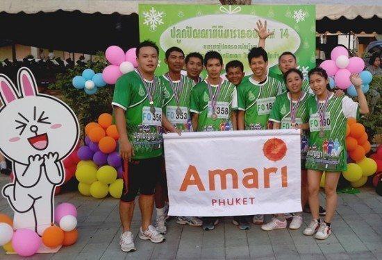 Amari Phuket joins 14th Plukpanya Mini Marathon