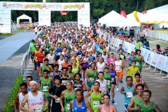 Bangkok Media Showcase for 2014 Laguna Phuket International Marathon (LPIM)