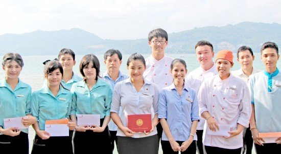 Successful Internships at Amari Phuket
