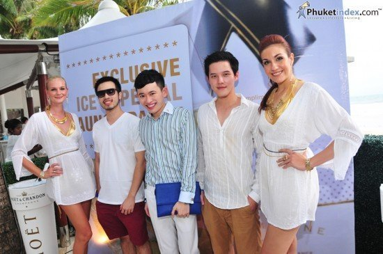 Phuket's Catch Beach Club holds Moët Ice Impérial Launch Party