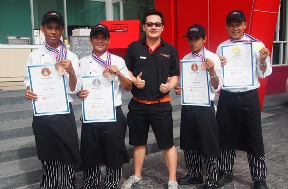 SLEEP WITH ME HOTEL design hotel @ patong - Thailand Ultimate Chef Challenge 2014