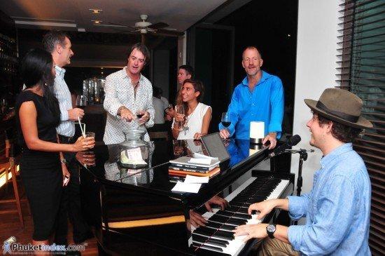 Phuket's Oriental Spoon introduces Pianoman to local media