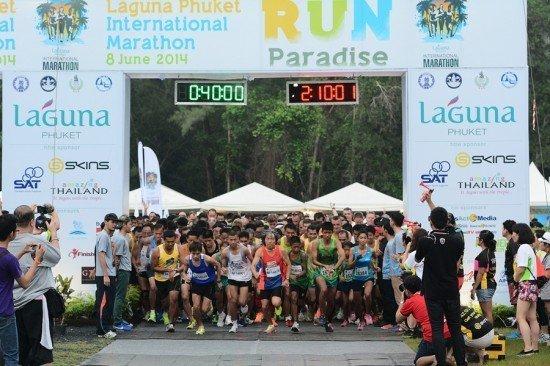 9th Laguna Phuket International Marathon - Results
