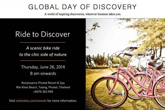 Renaissance Phuket Day of Discovery