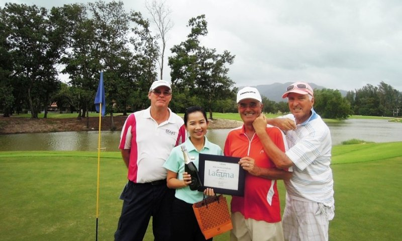 """First """"Hole-in-One"""" at Laguna Phuket's New Front Nine"""