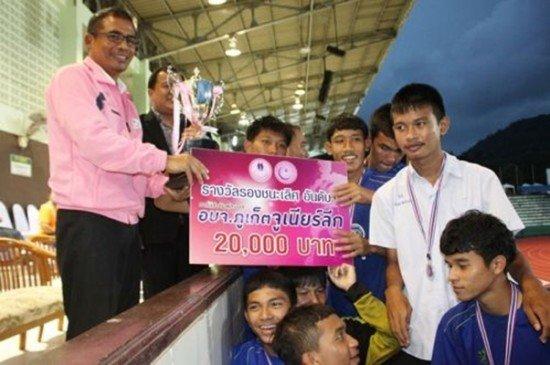 Muang Thalang School 2014 Junior League Football Champs