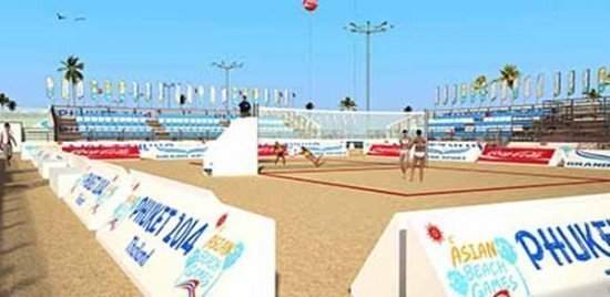 Phuket is set for 4th Asian Beach Games