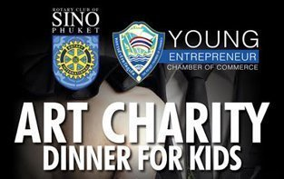 Phuket Art Charity Dinner for Kids