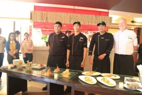 DoubleTree Phuket organized F&B Master's Cup contest