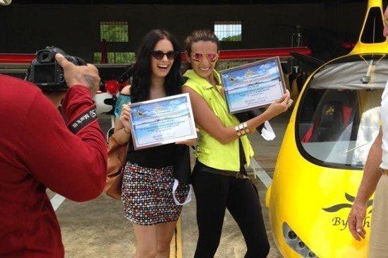 Bollywood stars visit Phuket Airpark