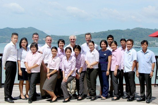 President & CEO OF Onyx Hospitality visits Amari Phuket
